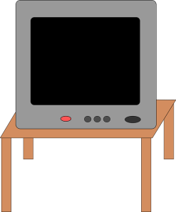 http://pixabay.com/en/table-electronics-television-29979/